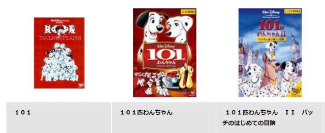 101匹わんちゃんはネットフリックス・huluで見れない?日本語吹き替え版アニメフルはある?